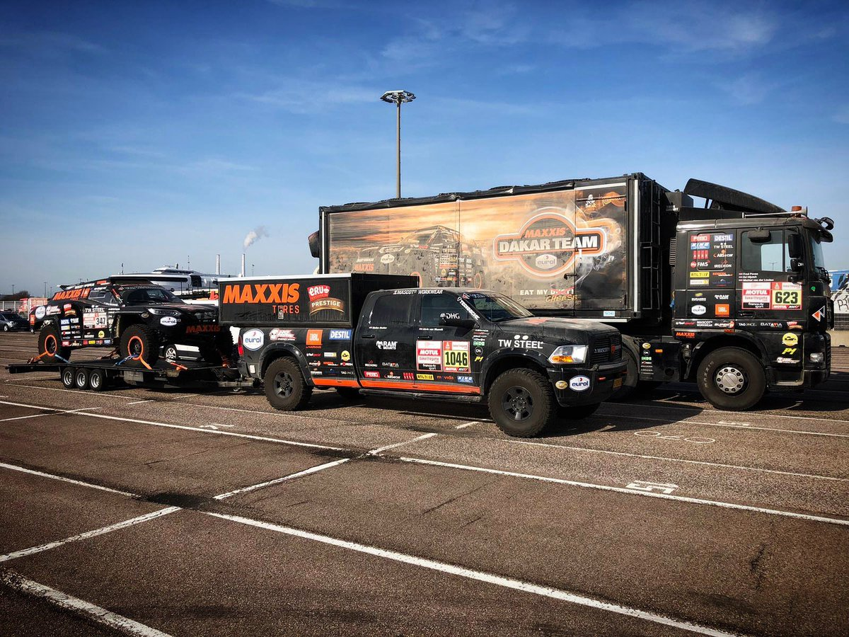 Guess who's back, back again?  Did you miss this beauty uhhh #Beast347?  Welcome home, just on time for Valentine's day  #dakar2019<br>http://pic.twitter.com/iMpjvjPlZe