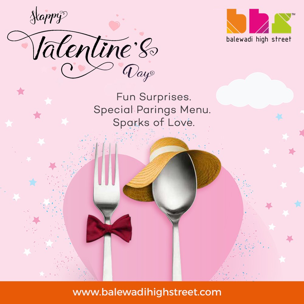 Some much needed love for our lovely peeps.❤❤❤ This #Valentine's Day, spend your day with the perfect companion at your perfect place Balewadi High Street. #valentinesday #happyvalentinesday #BHS #spoiltbychoice #lifeatbhs #worldcuisine #perfecthangout #hangoutdestination