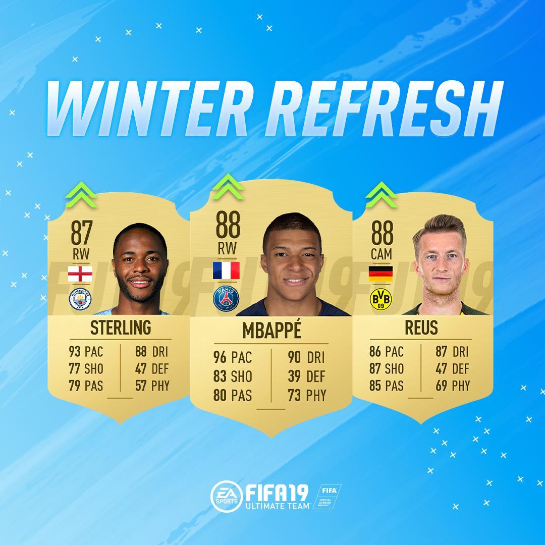 FIFA 19 Ratings Refresh: Upgrade für Marco Reus, Kylian Mbappe und Raheem Sterling