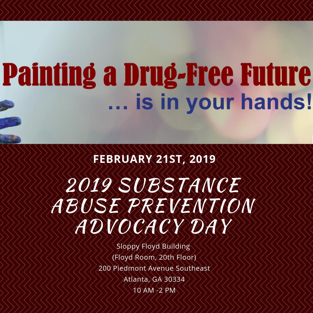 Next week is National Drug Prevention Day at the Capitol! Members of our community are coming out to advocate for substance prevention in our state. Will you be one of them? Register here!  https:// v4pga.org  &nbsp;  <br>http://pic.twitter.com/heF4r6rVf8