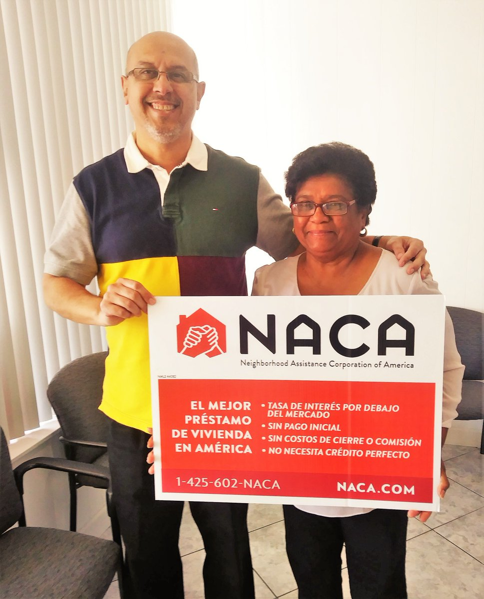 "Ms. Calderon found NACA through an internet search and is now and #Orlando area homeowner with a 3.188% fixed rate! ""I have my dream house (and) peace of mind."" #AchieveTheDreamNACA #NACAPurchase #AmericanDream 3.45% APR"