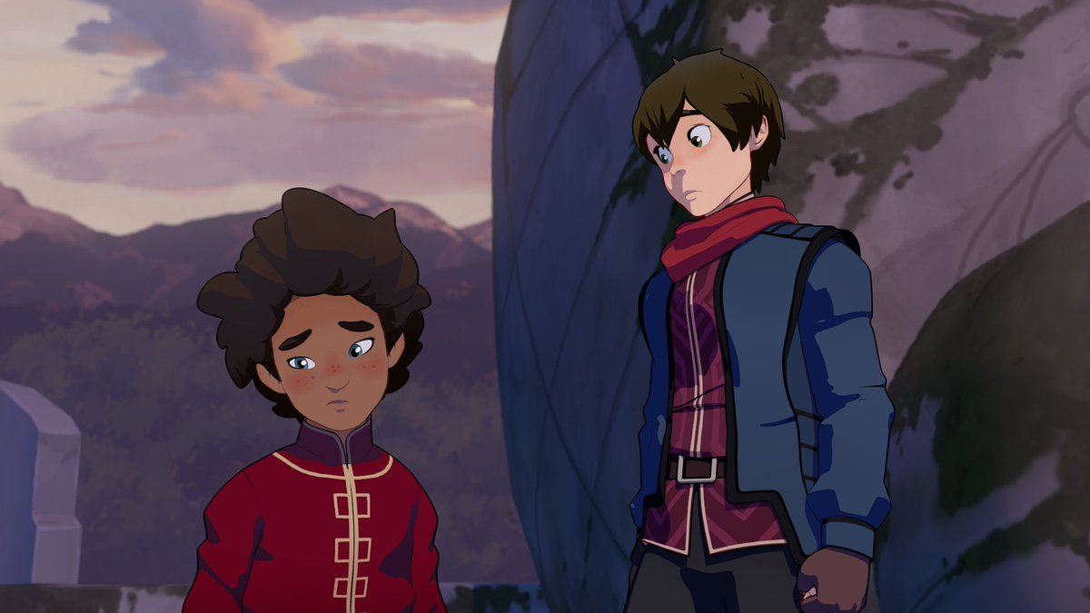 TWO DAYS UNTIL #THEDRAGONPRINCE SEASON TWO AIRS ON NETFLIX!