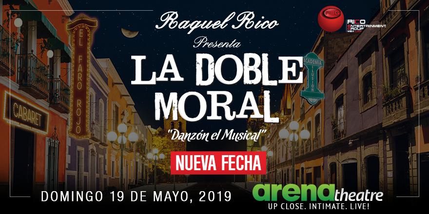 """¡Los boletos para la puesta en escena """"La Doble Moral, Danzón el Musical"""" de Raquel Rico están a la venta! Este es un show que ¡no te lo puedes perder! #NUEVAFECHA: Domingo 19 de mayo, 2019. ¿Qué esperas? ¡Adquiere tus boletos hoy!  👉https://bit.ly/2Bhthj1 -- #teatro #Houston"""
