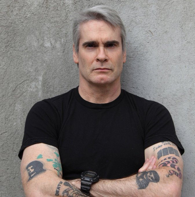 Happy 58th birthday to Henry Rollins!