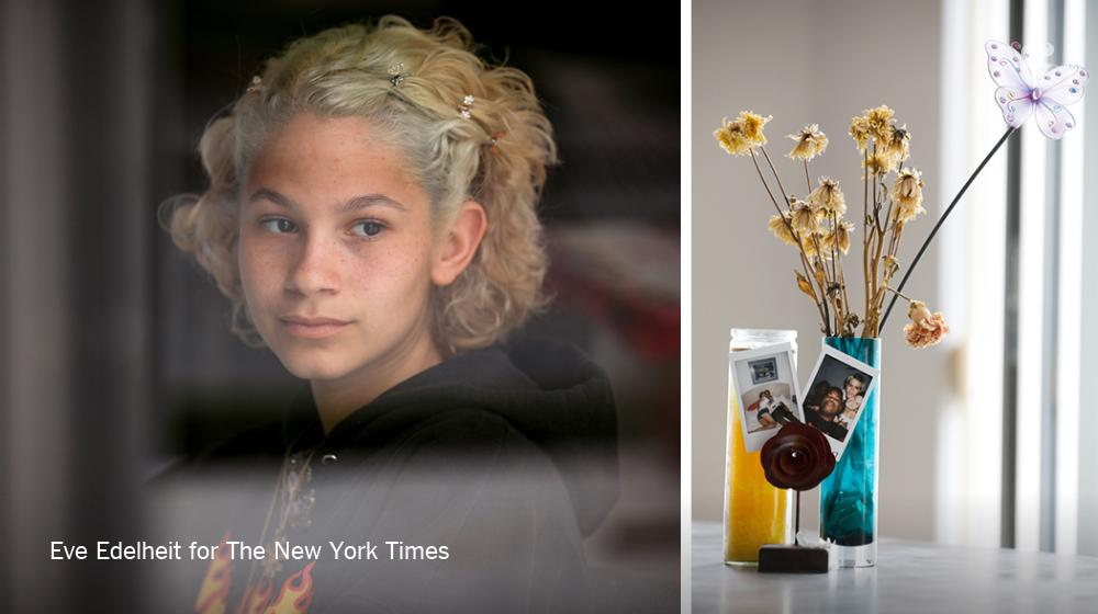 This story, masterfully photographed by @Eve_Edelheit has me all choked up. Especially this heart-wrenching detail: Tori still keeps the flowers Joaquin gave her last Valentine's Day, just before he was killed in the Parkland school shooting, in a vase.  https://nyti.ms/2E6x9oR