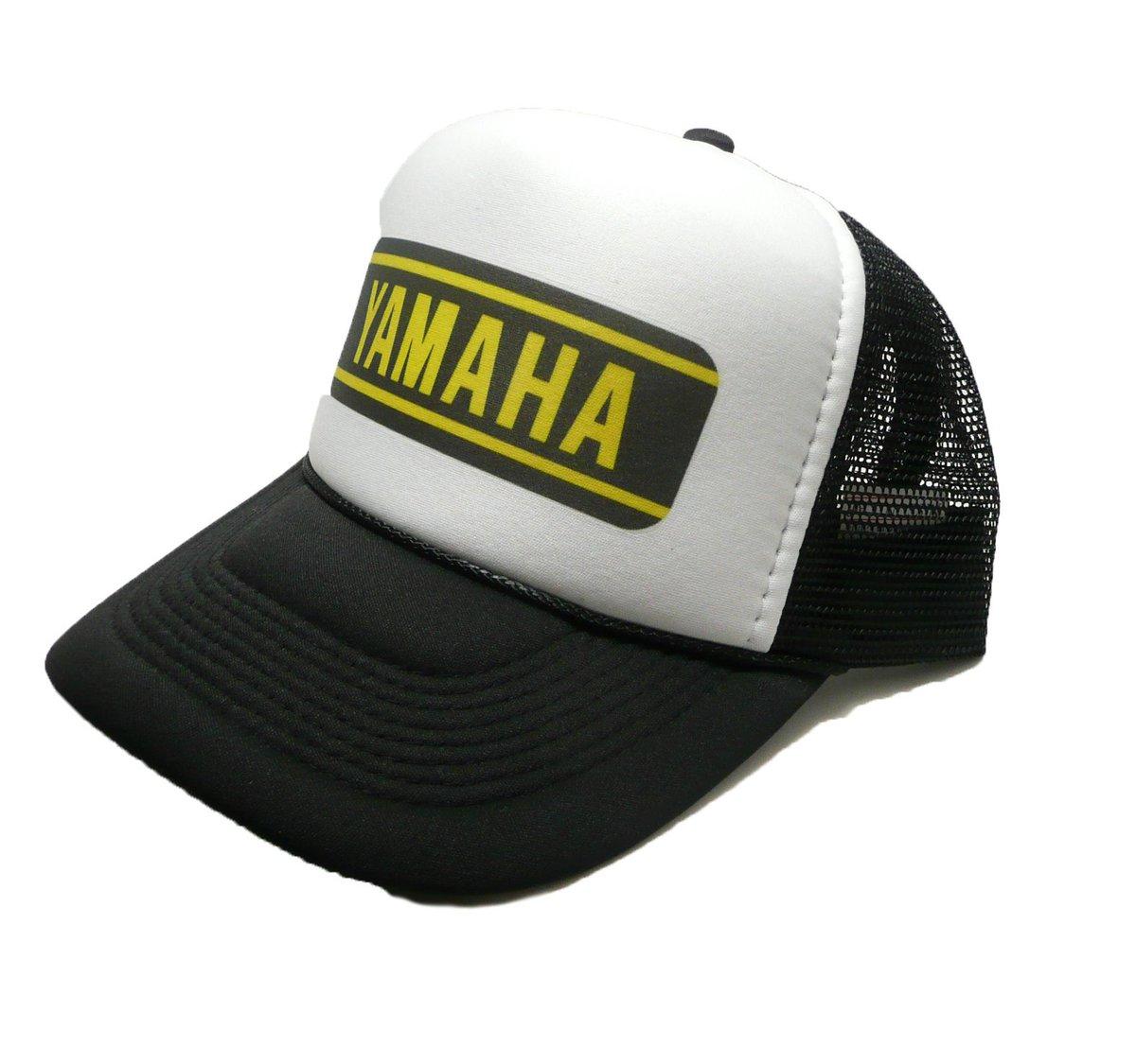 6e2a64abbf9 ... shop  Vintage Yamaha motocross hat trucker hat adjustable snapback  racing hat black new unworn motorcycles hat https   etsy.me 2GMvtmz   accessories  hat ...