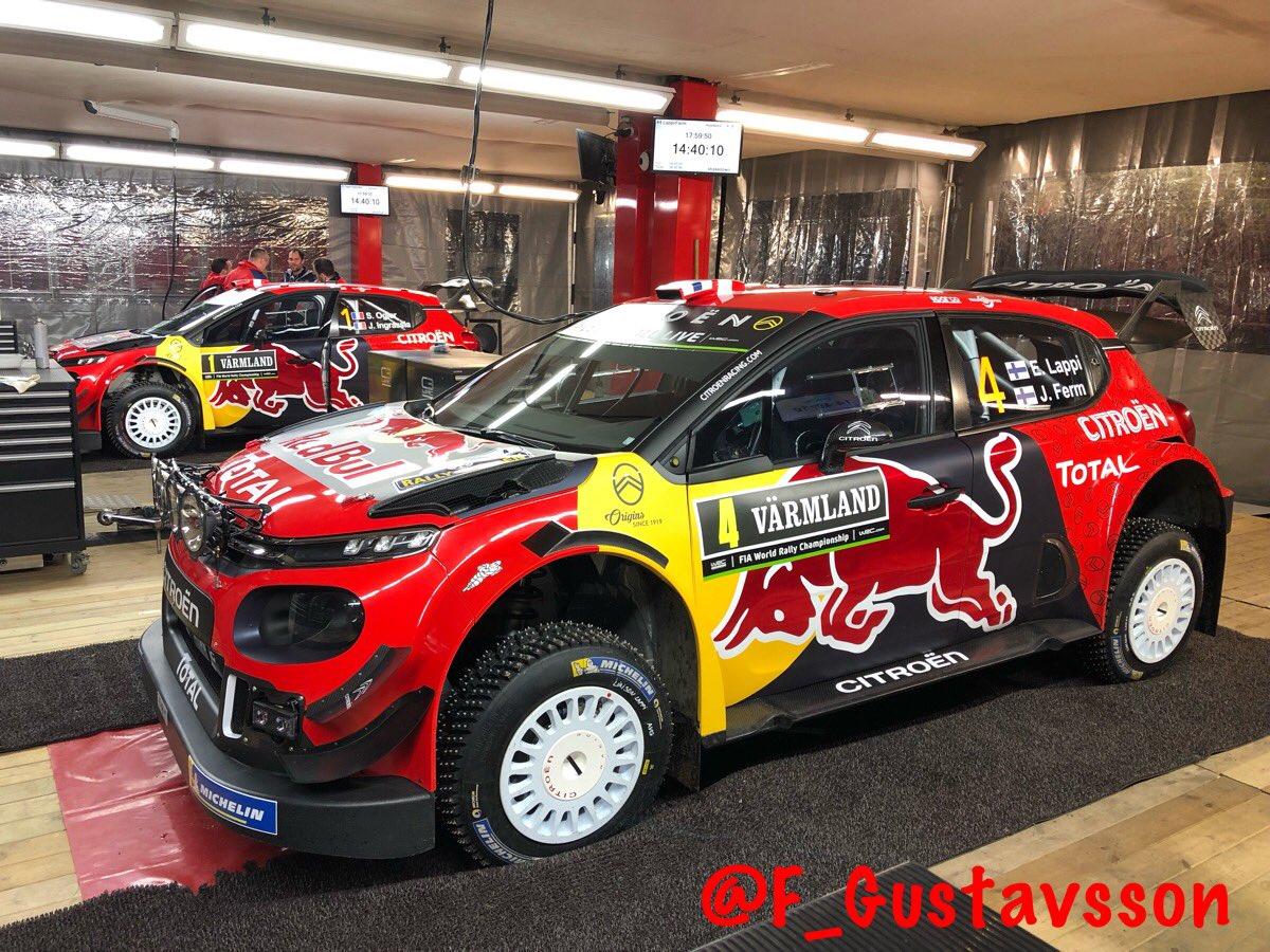 2019 Rallye de Suède  DzTmZinX0AACOjB