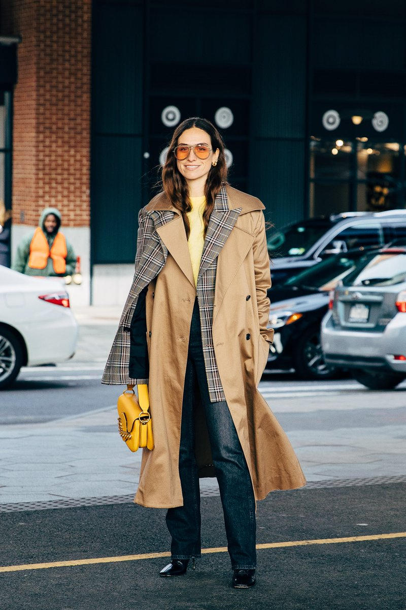 Seen in #ToryBurch at #NYFW: #erikaboldrin @Double3xposure @nicoleandersson