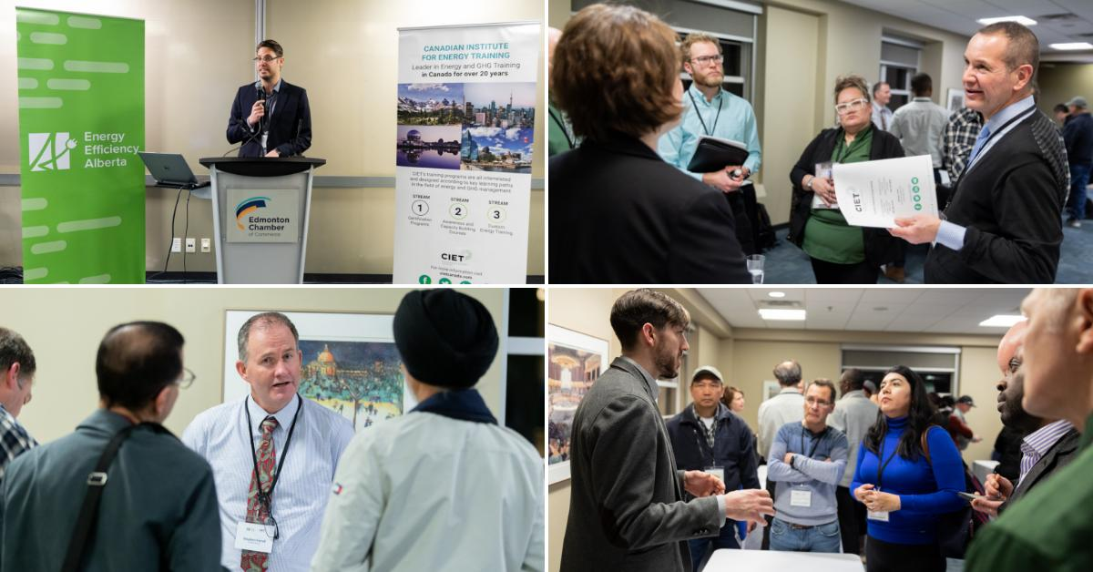 """CIET hosted a series of 3 networking events named """"Your Future in Energy Efficiency"""" for @efficiencyAB . The participants in these events consisted of those in career transition, new Albertans, tradespeople & students. Click to learn more & view photos. https://cietcanada.com/news/your-future-in-ee-recap-photo-gallery/…"""
