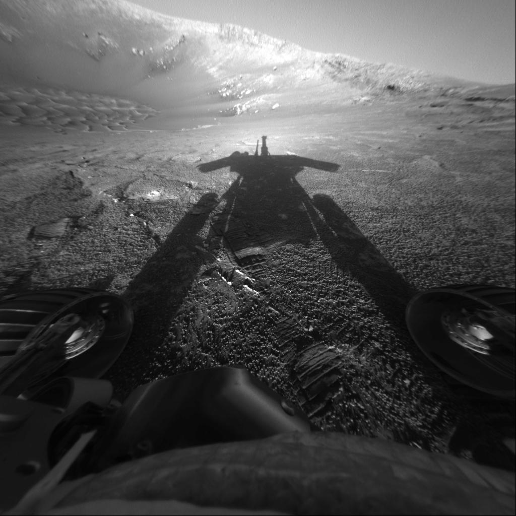 Help us remember Opportunity, one of the greatest of all time. http://mars.nasa.gov/mer/highlights   Tag thoughts and memories #ThanksOppy