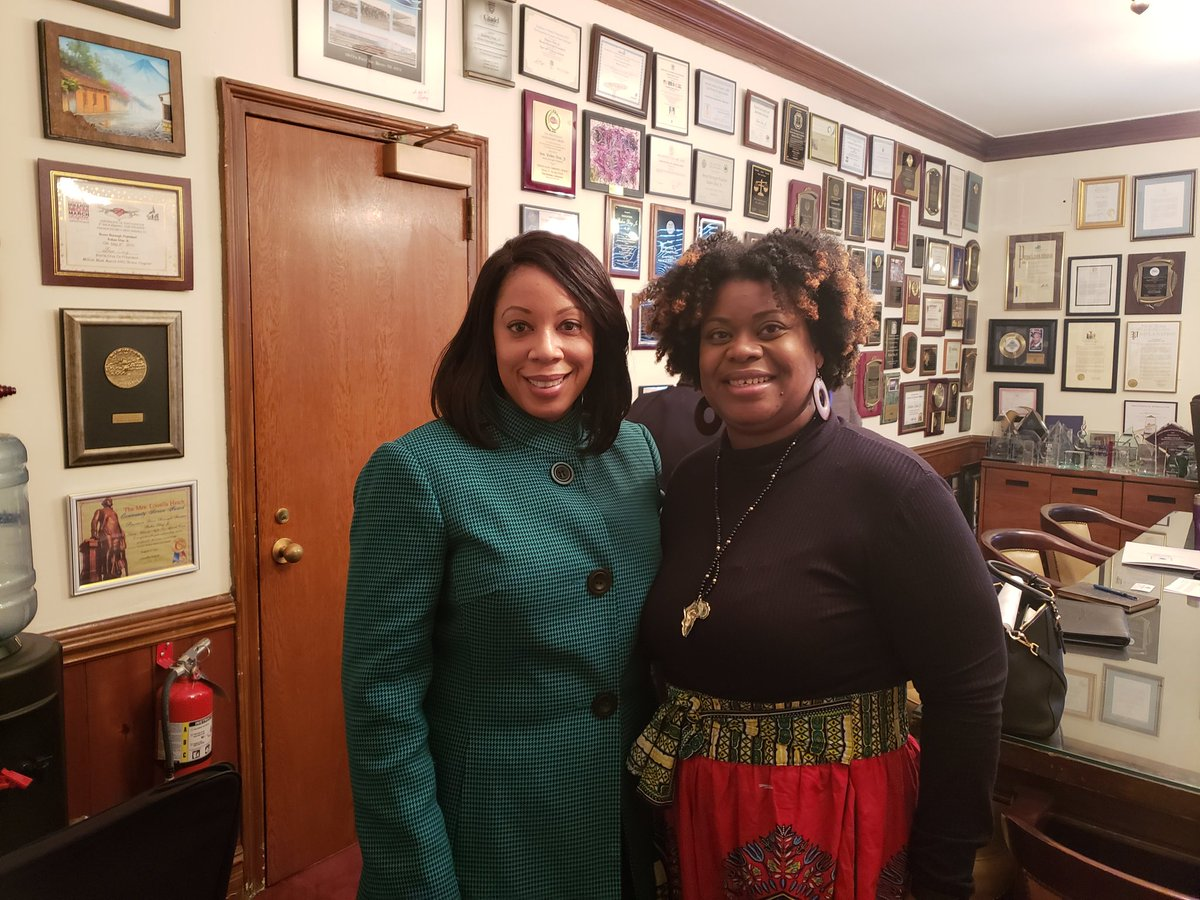 Truly a pleasure meeting Deputy Bronx Borough President, Marricka Scott-McFadden today to speak about my client @_UniquePeople and their latest development and plans to add to the number of quality affordable housing options available in the #Bronx.  #Not62 #SupportedHousing