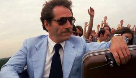 """Happy 85th birthday to George Segal!  Pictured here riding a rollercoaster, in the movie \""""Rollercoaster\"""""""