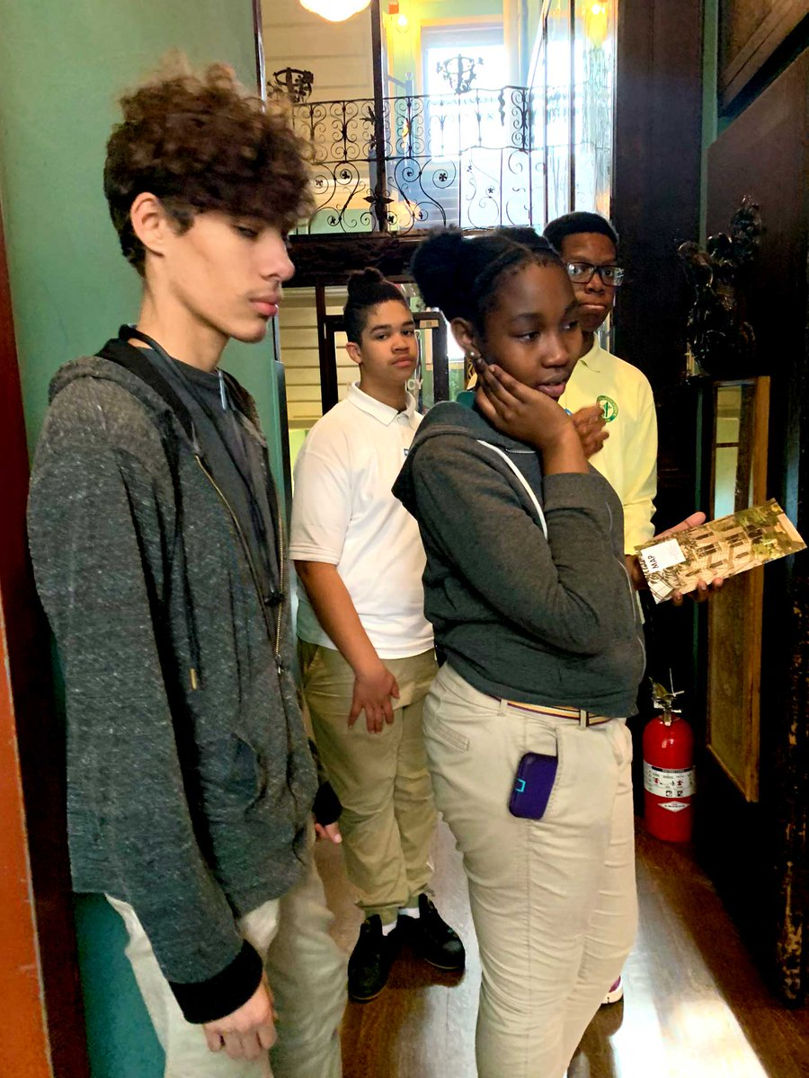 test Twitter Media - French Club students with French teacher Kelley March toured the Isabella Stewart @GardnerMuseum, taking in the French and other art exhibits and finishing their visit with crepes! Fantastique!  #RCABSchools | #FullSTEAMAhead https://t.co/V5MX4LXMeE