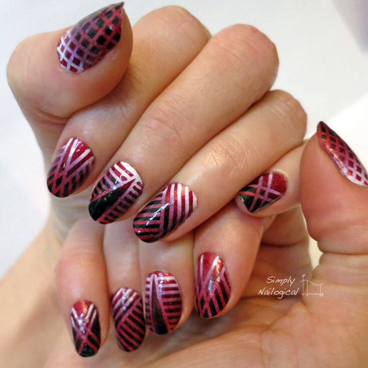 Valentine's Day nail art ideas from 2014 simplynailogical 💞❣️💔