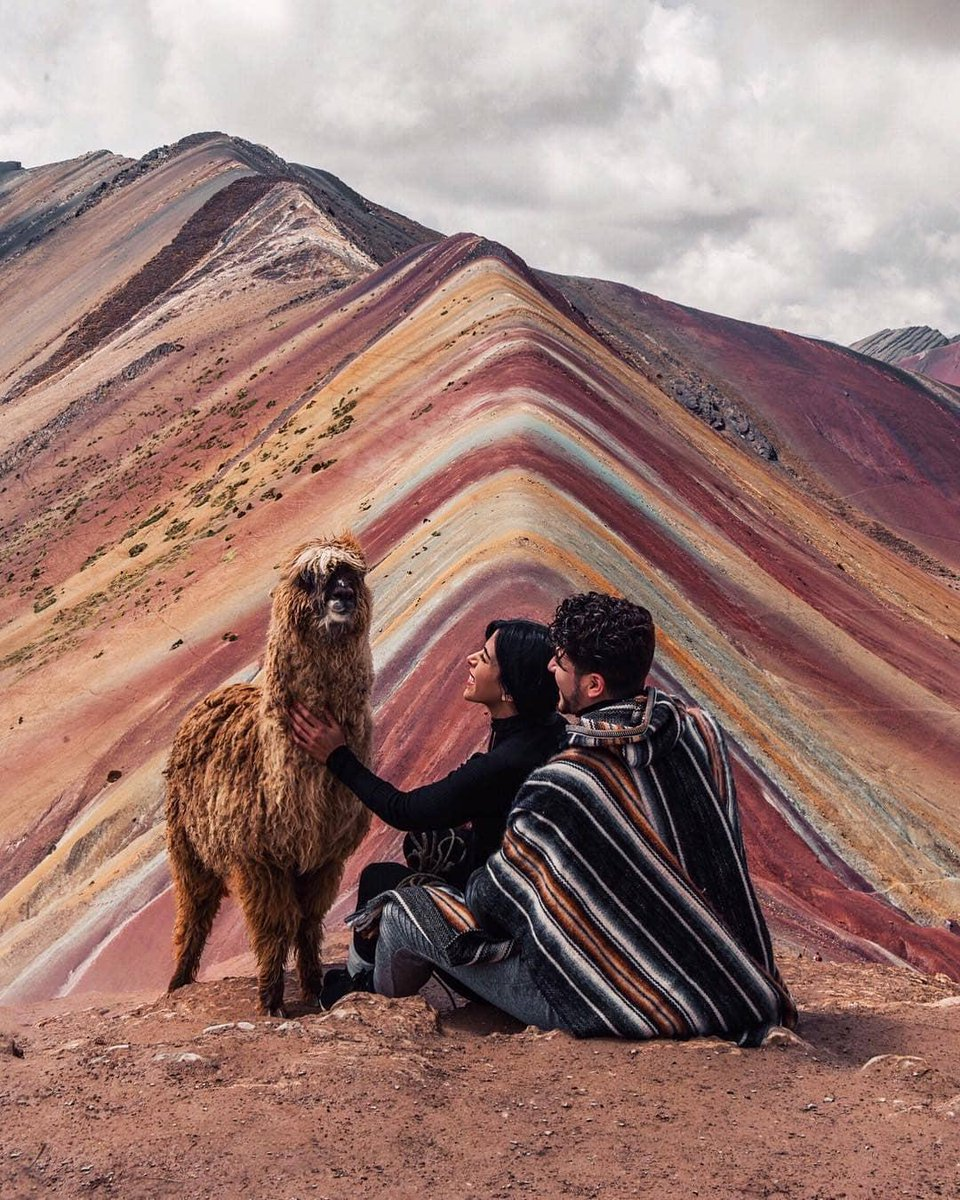 Come to #Peru and keep dreaming with the overwhelming landscapes of our country. Amazing shot of the Vinicunca Mountain by @twotrends.  #Cusco #PeruTheRichestCountry #VisitPeru