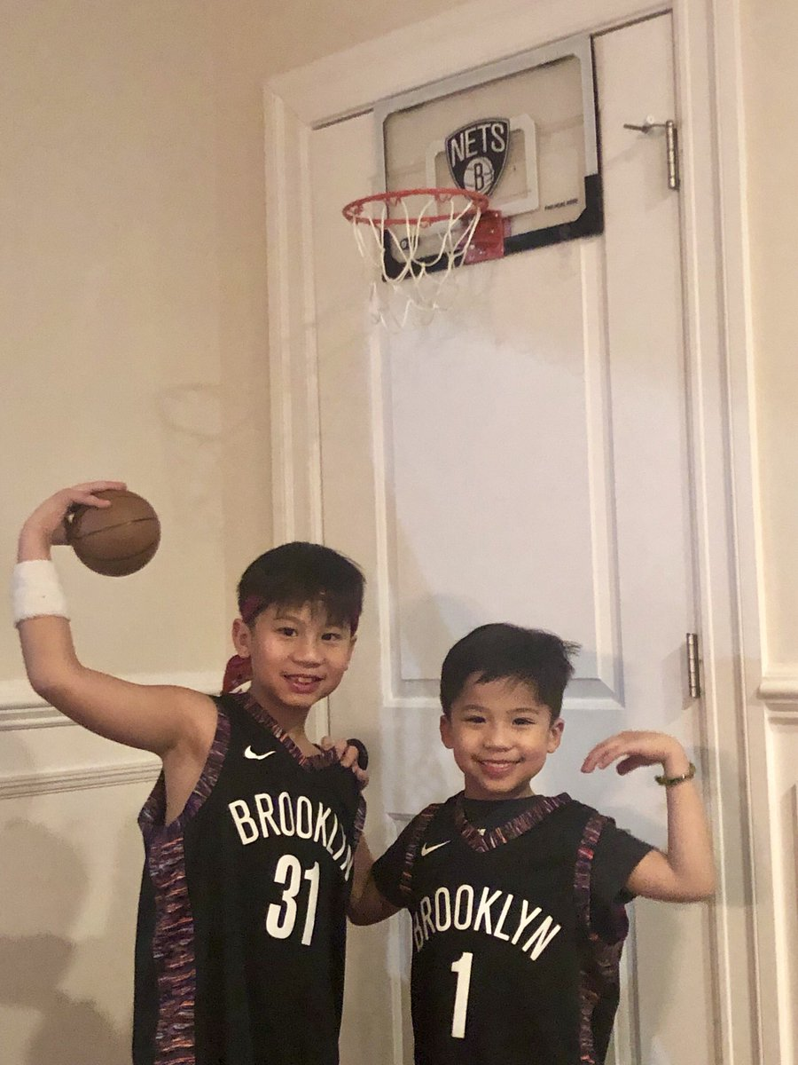 Every game they suit up @_bigjayy_ @Dloading  #Nets