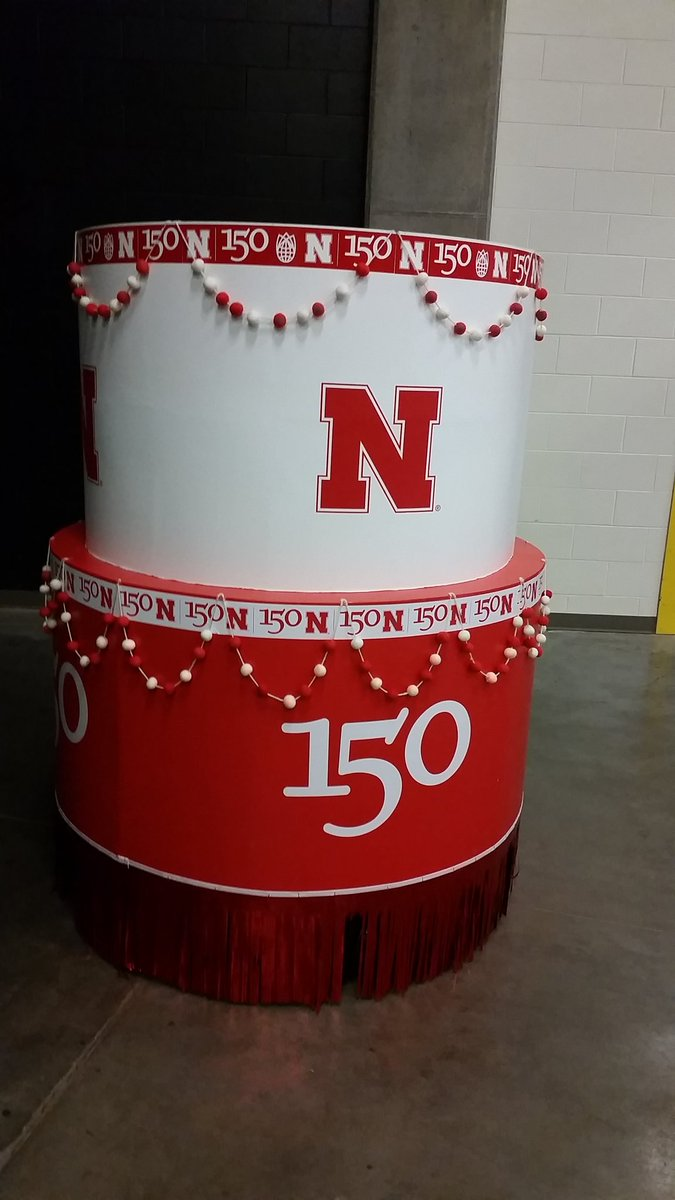 Rumor has it that SOMEONE is jumping out of this cake at halftime. And that someone is either me or Shon Morris...maybe.