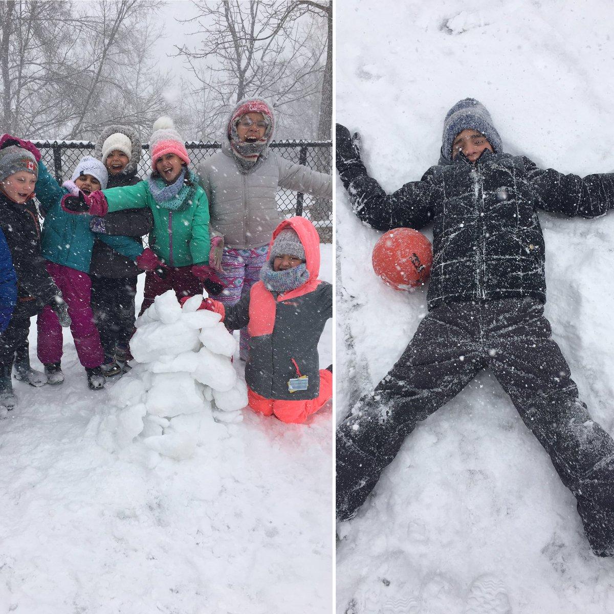 Ms. Gustin's photo on #SnowMageddon2019