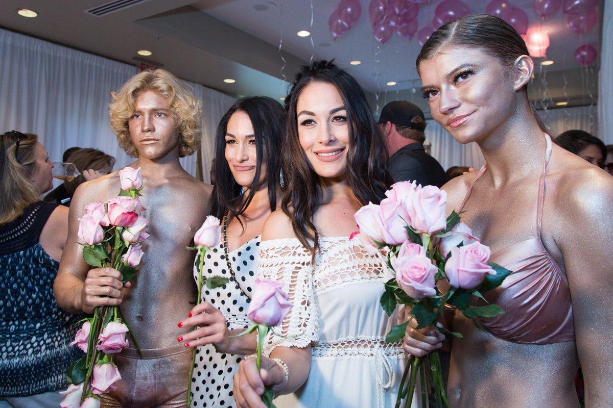 Excited to have the amazing @BellaTwins returning to help host Rosé Parté this year at the iconic @WrigleyMansion https://www.nirvanafoodandwine.com/rose-parte