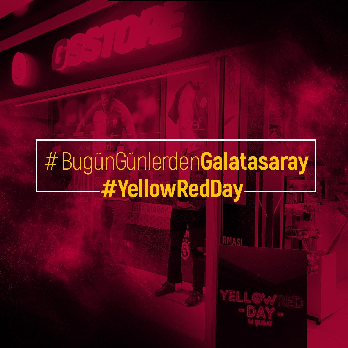 #BugünGünlerdenGALATASARAY #YellowRedDay