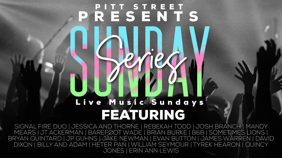 "The count down has started! In March, we will kick off a new event called ""Sunday Series"" featuring 22 of North Carolina'a best local musicians. First up is the Signal Fire Duo on March 3 from 4-7pm. If you love Sunday Fundays and live music then you do not want to miss this!"
