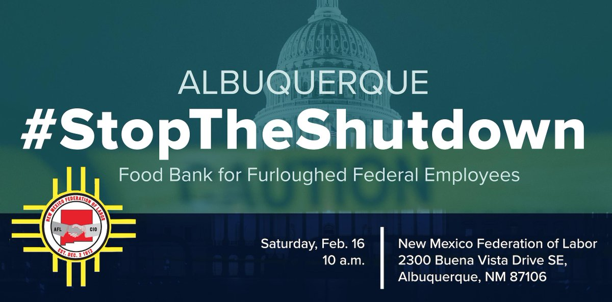 Tomorrow morning come out for to help! Or if you need help because of the #Shutdown! #NoMoreShutDowns #1u #Solidarity