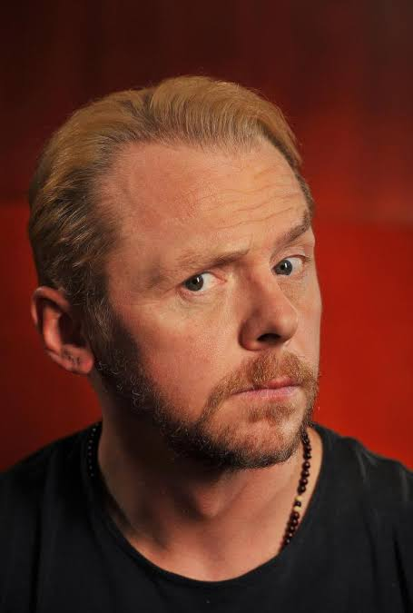 American audiences tend to be more expressive than British ones. Simon Pegg Happy Birthday Sir