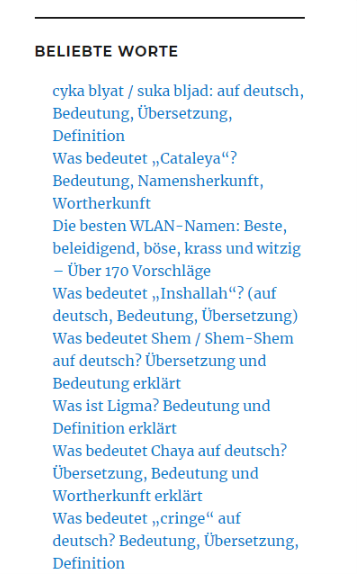 was heißt cyka blyat auf deutsch