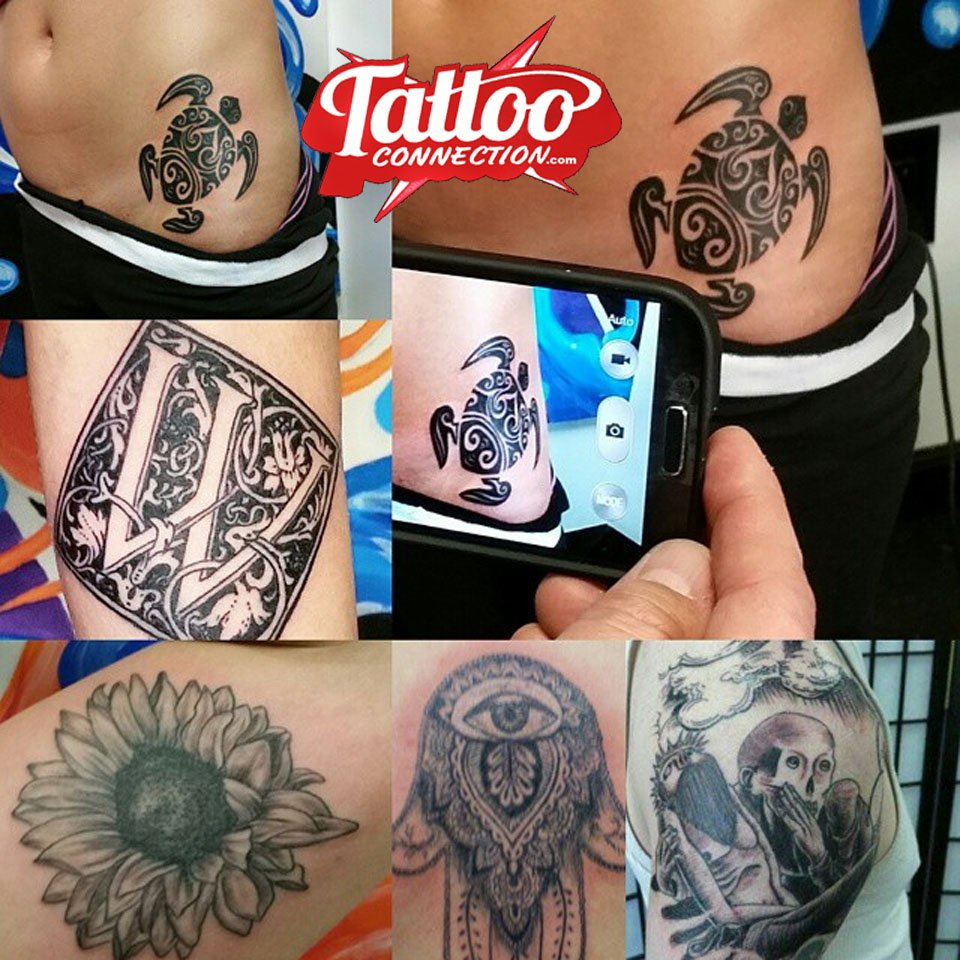 What do you prefer, #ColorTattoos or #BlackAndGrayTattoos? #NJInk #TattooConnection