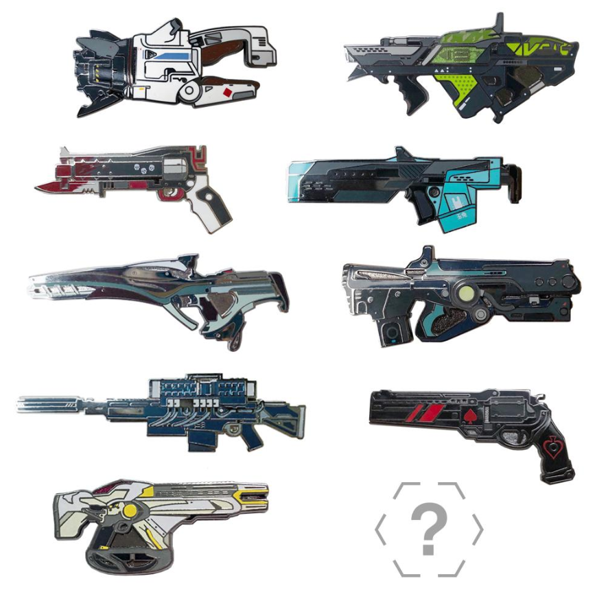 *whispers* Did you know there is another exciting set of pins live in the @BungieStore and they go 'pew pew pew' (in your mind) https://bungiestore.com/collections/whats-new/products/the-armory-series-2-collectible-pin-with-emblem …