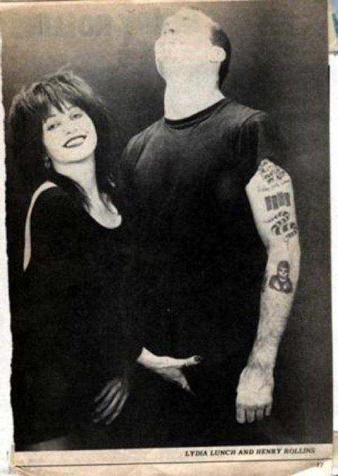 Happy birthday Henry Rollins and thank you for the ultimate this could be us but u playin pic of all time