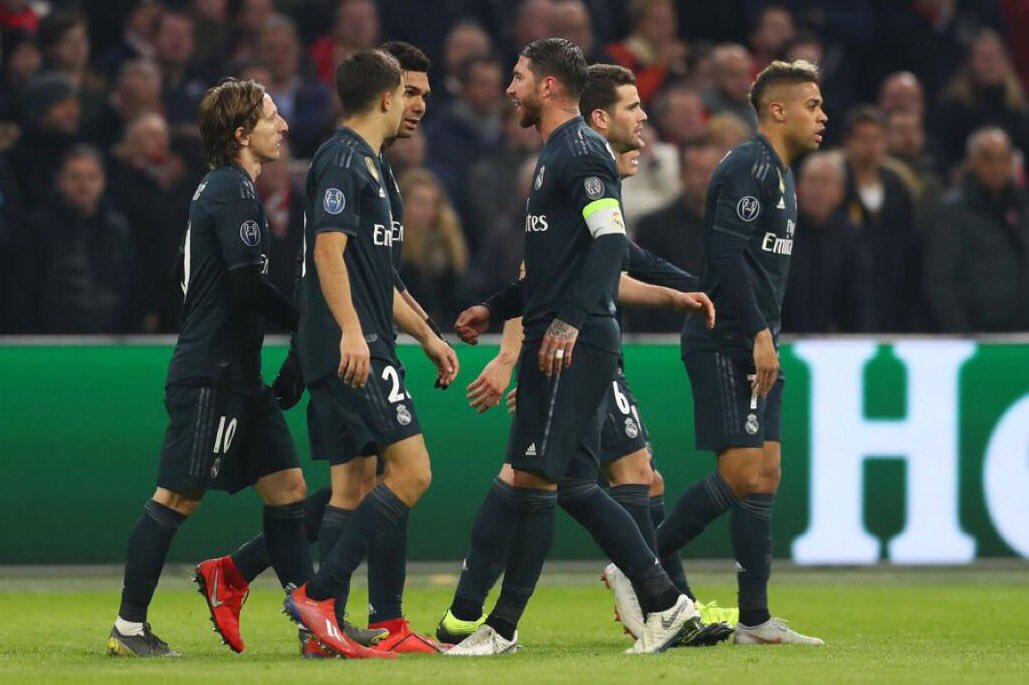 أهداف مباراة ريال مدريد وأياكس بدوري أبطال أوروبا