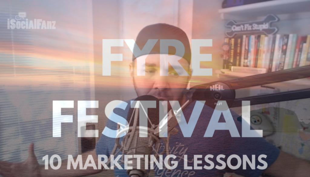 I took this podcast episode and turned it into a keynote for #DSphx and the feedback was amazing...  I really enjoy shifting audiences perspective to learn from failures rather than mocking them!  #FyreFestival: Marketing lessons the event &amp; documentaries!  http:// bit.ly/2G6KsYT  &nbsp;  <br>http://pic.twitter.com/EH6tOq9hbI