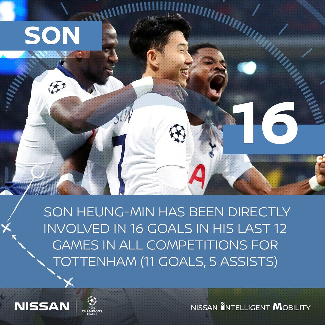 Son Heung-Min steering Tottenham Hotspur FC in the right direction. Reliable 👌  #UCL #TOTBVB #InnovateYourGame🧠⚽