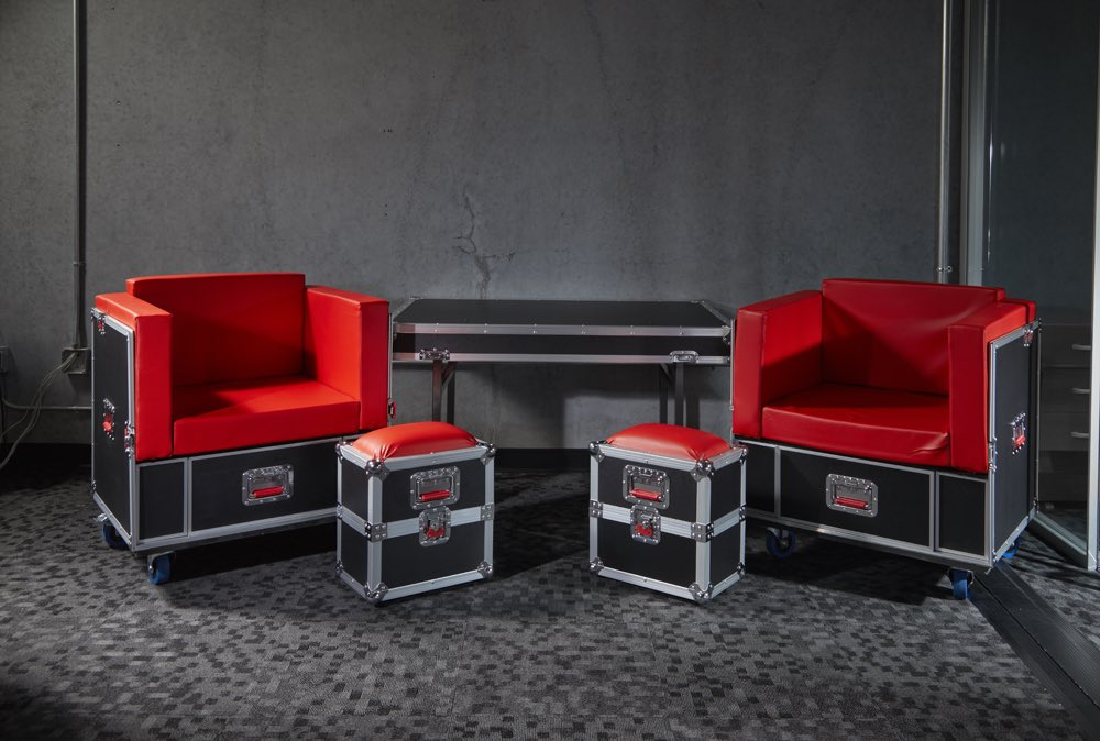 Check out our G-TOUR furniture series! Road cases that turn into a furniture set 😱 http://bit.ly/GTourFurniture
