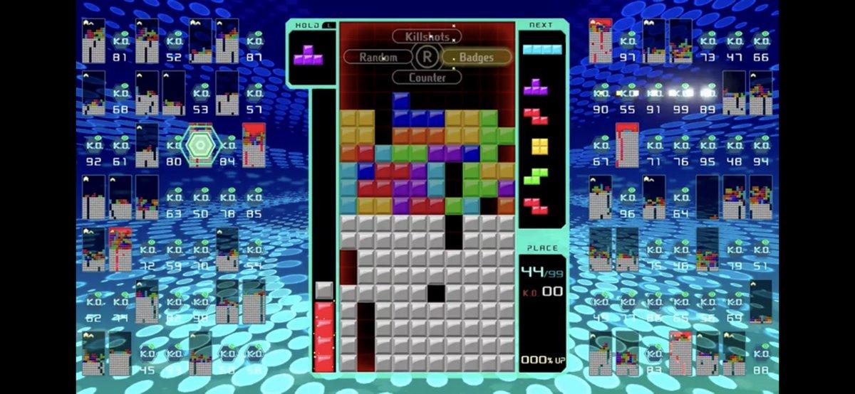 Tetris Battle Royale on JumPic com