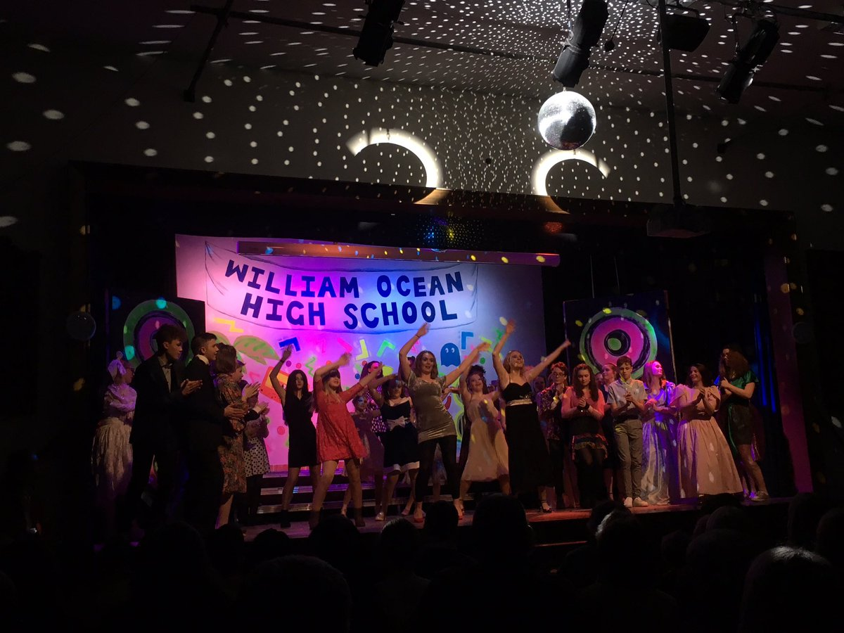 Tonight LSHS became William Ocean High School! And what a night it was too! Bring on the next two shows!#LshsExcellence.