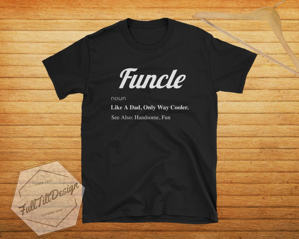 d9feb4a02 Excited to share the latest addition to my #etsy shop: Funcle Fun Uncle  Funny