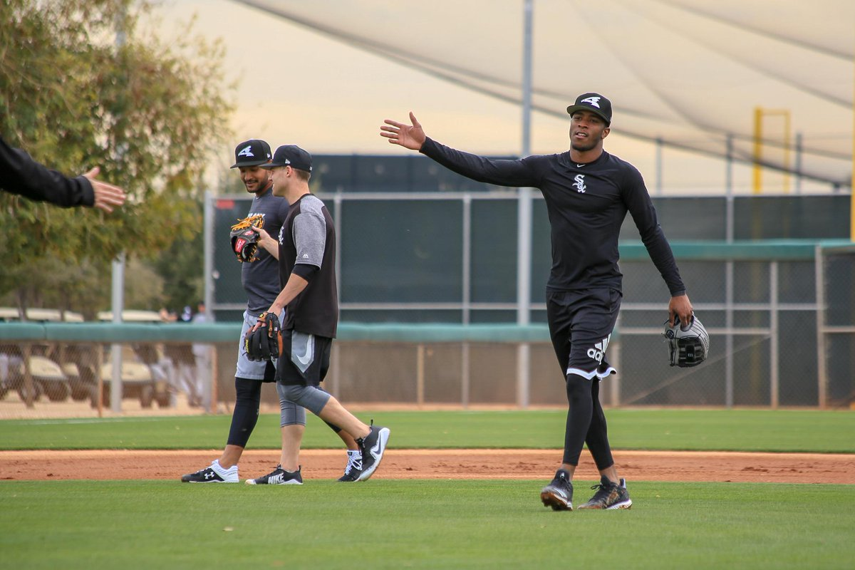 Back in action. #SoxSpringTraining <br>http://pic.twitter.com/hP93p4kS3Y
