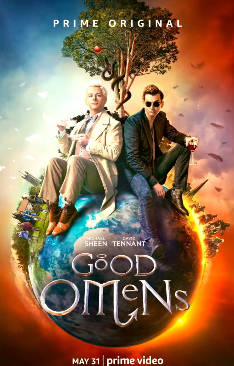 New artwork from Good Omens