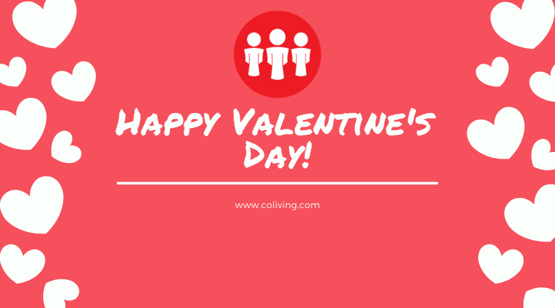 From all of us here at  http:// bit.ly/2Q0SjaW    , Happy Valentine's Day! May your hearts be filled with love all the way!   #coliving #valentinesday #lovealltheway #sharedspaces<br>http://pic.twitter.com/aniMC2hf9n