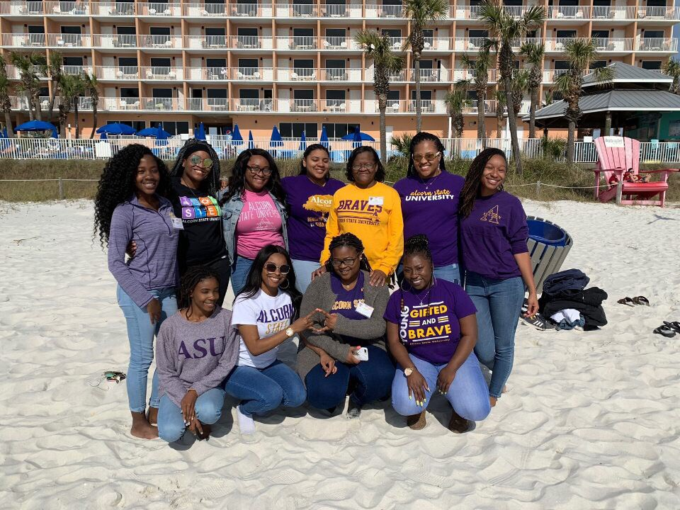 This past weekend ΑΧΣ attended conclave in Panama City Beach, FL!! <br>http://pic.twitter.com/46BPk5tumM
