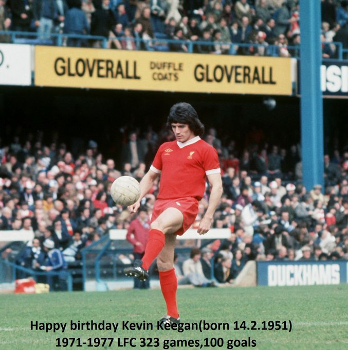 Happy 68th birthday Kevin Keegan!