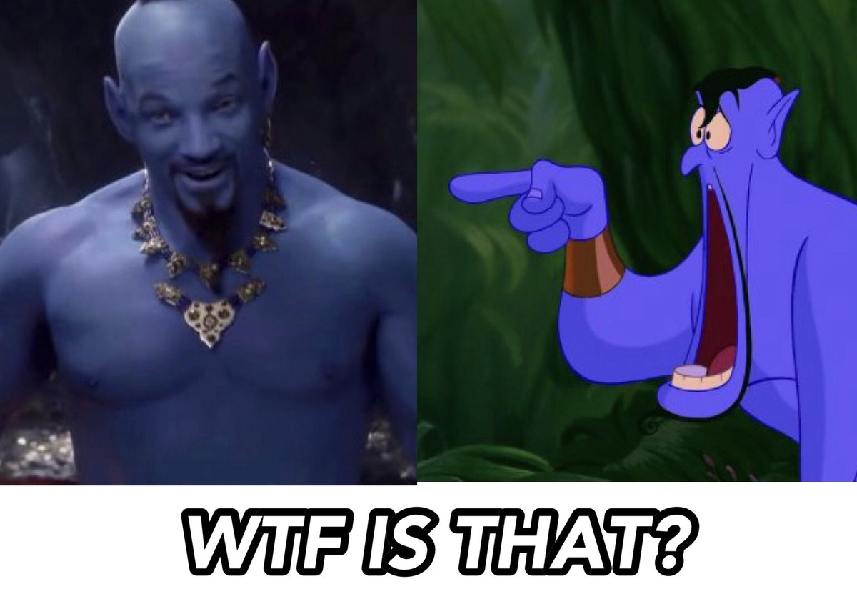No one can replace Robin Williams.  Nuff said.  #Aladdin #Aladdin2019 #Aladdintrailer <br>http://pic.twitter.com/zwMAFe4Nju