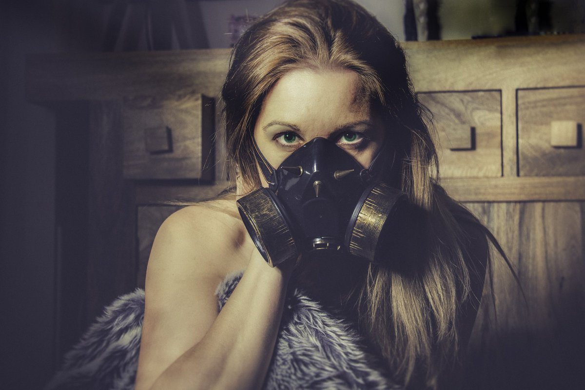 New mask!! #steampunk ❤