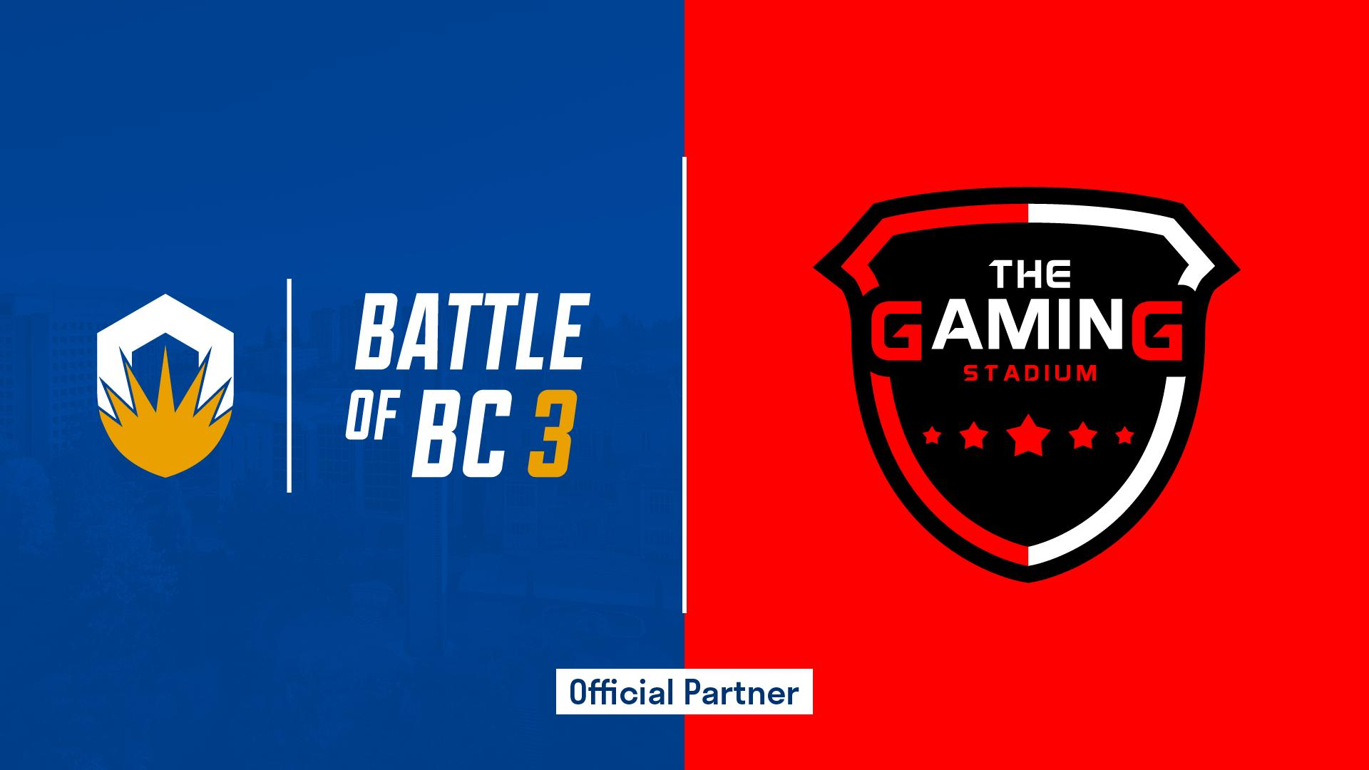 Ubc Esports På Twitter We Re Incredibly Excited To Announce That The Gaming Stadium Is Joining Battle Of Bc 3 As A Premiere Partner This Event Would Not Be Possible Without Their Generous