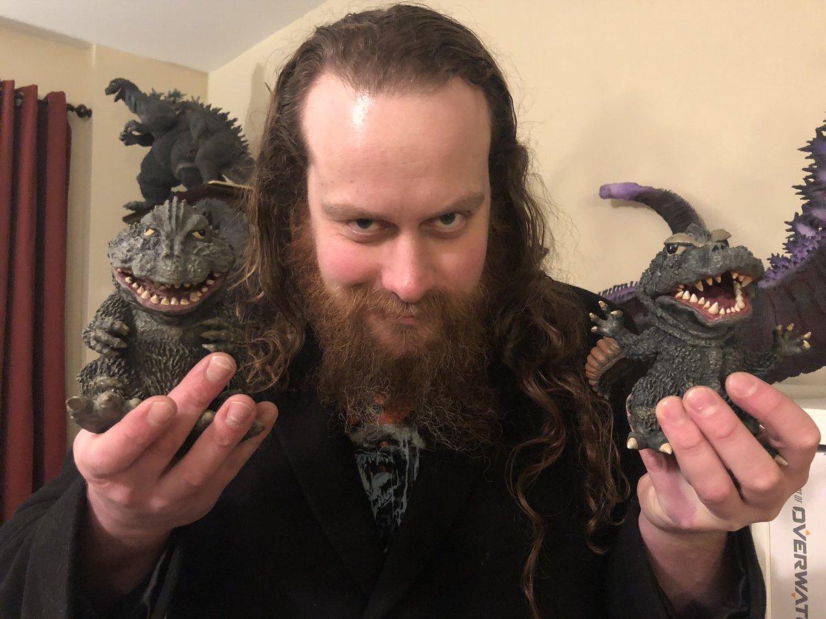 Happy to add these two little guys to our collection. @GodzillaMovies #godzilla #kaiju #daikaiju #toho #xplusgodzilla #wf2019w <br>http://pic.twitter.com/9iHpPLR5Rc