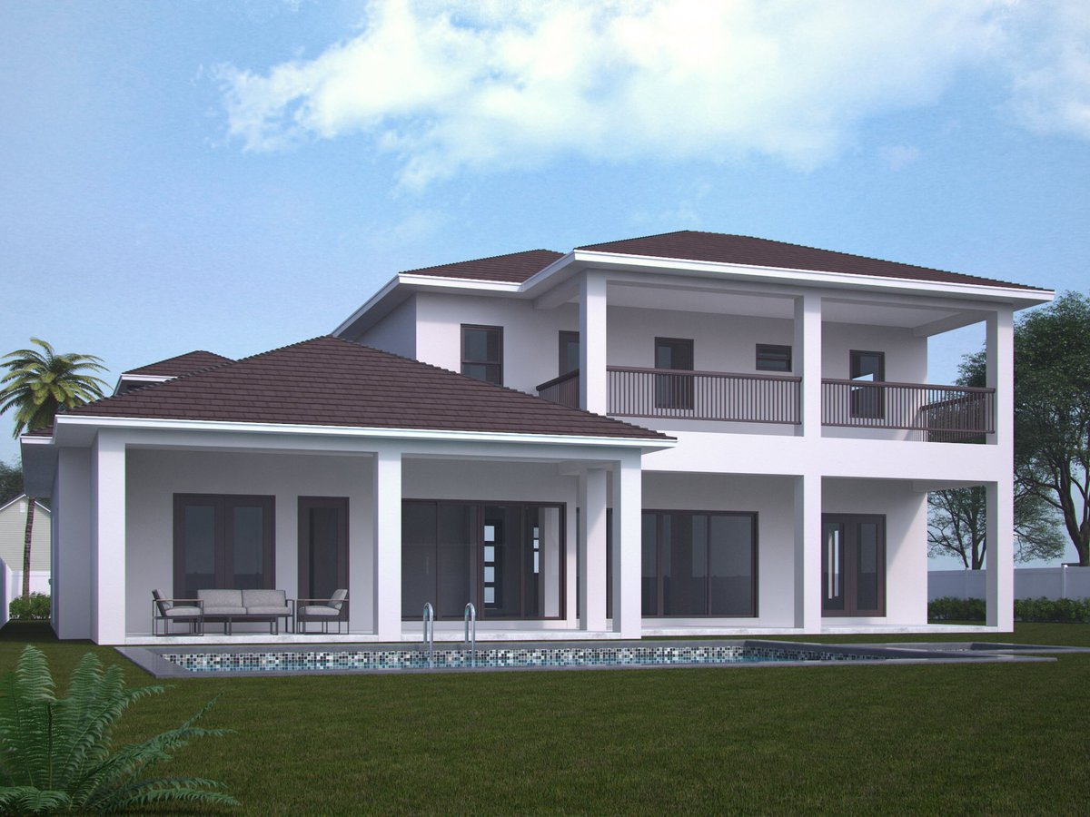 Architectural renderings of 904 SW 29th Ave #BoyntonBeach #ComingSoon #homebuilder #CONSTRUCTION #contractors #NewHomes