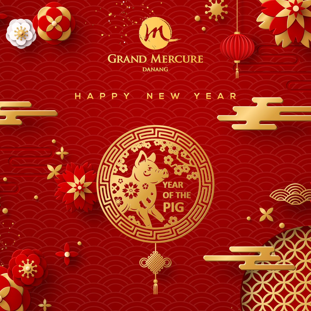 Happy Lunar New Year! #Grand Mercure Danang would like to thank all our dear guests and partners for an exciting #YearofthePig. We are wishing all of our guests a very happy #lunarnewyear and we hope that #YearofthePig2019 brings you happiness and good times. https://t.co/ViGSOmTyOm