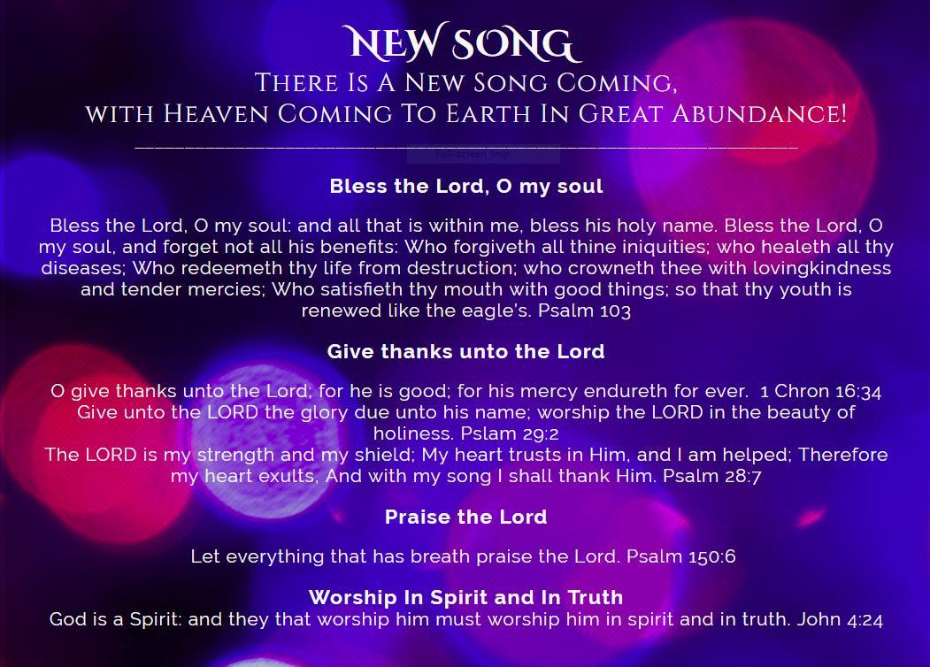 NewSongArise - New Song Christian Fellowship Twitter Profile